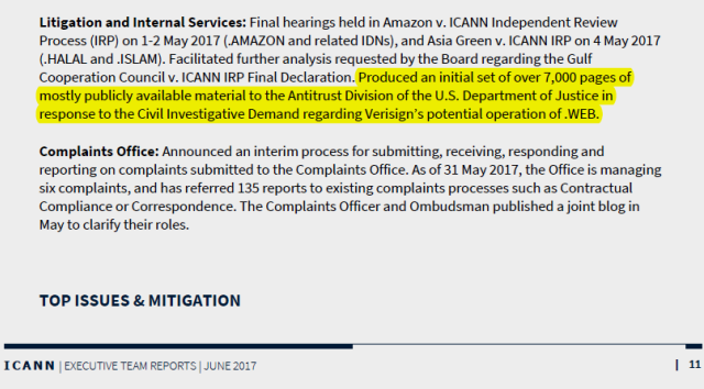 June 2017 ICANN Executive Team Reports p.11