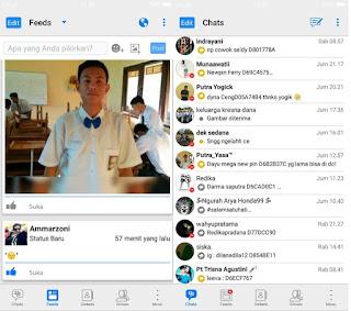 BBM Mod Style Theme iPhone Versi v3.3.0.16