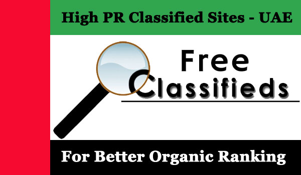High PR 80+ Free Classified Sites of UAE and Dubai for SEO