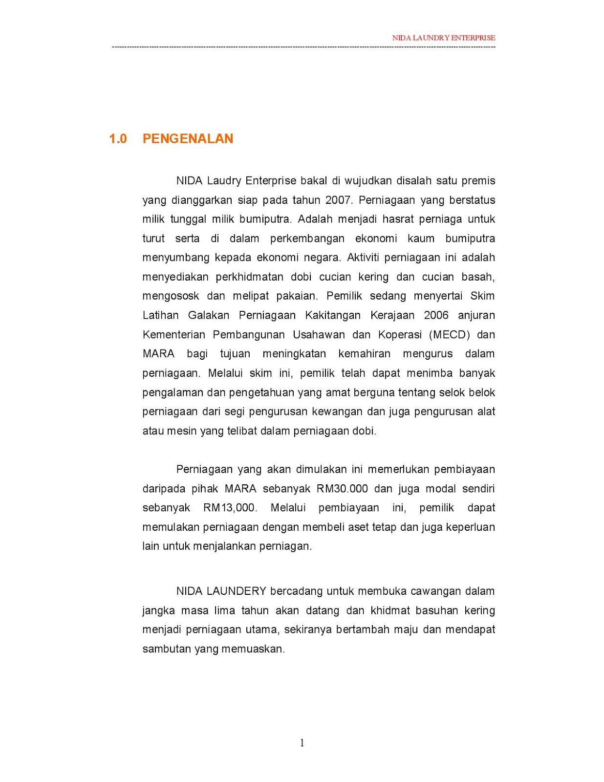 Contoh Rancangan Perniagaan Restoran Sbookbaldcircle