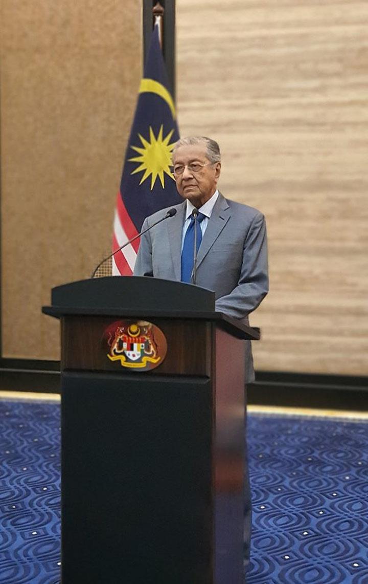 Video dan Teks Penuh Perutusan Khas Tun Mahathir Mohamad
