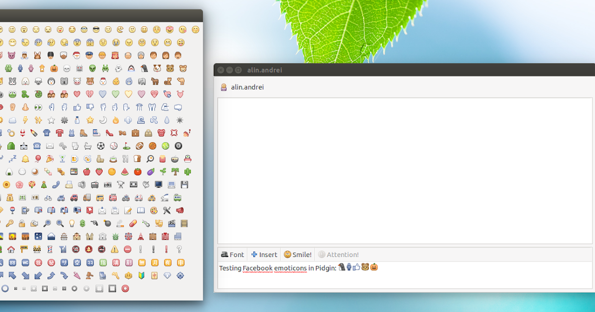 How To Install Facebook (And Others) Emoticons In Pidgin
