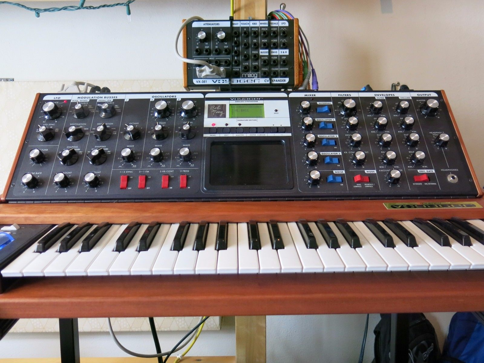 MATRIXSYNTH: Moog Minimoog Voyager Signature Keyboard Synth - with