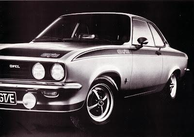 Opel Manta A series GT/E Sales Brochure Page 3