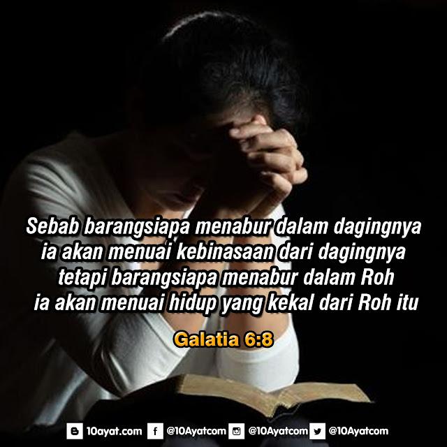 Galatia 6:8