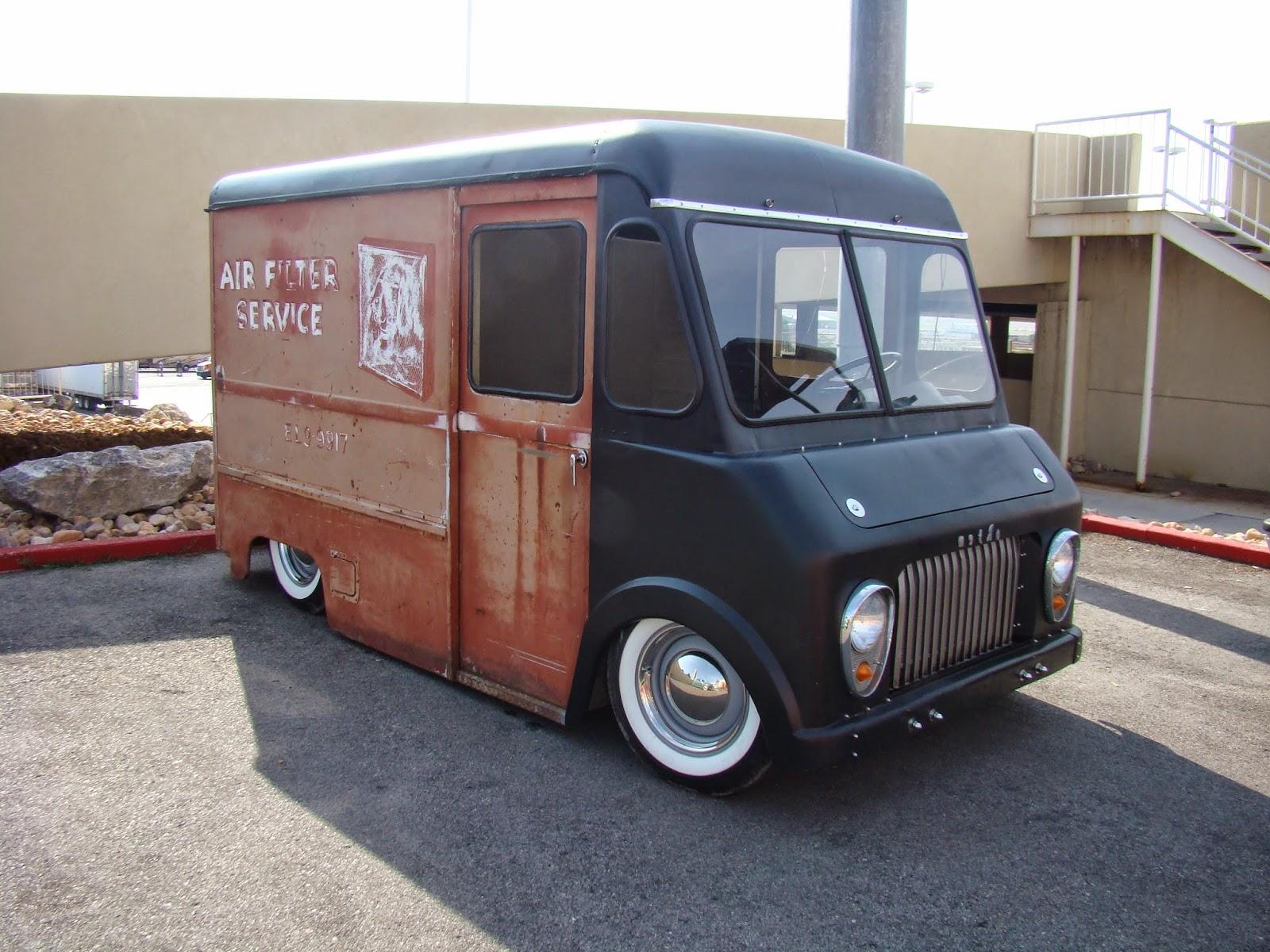 The World of JEK: Custom Bread Trucks/ Delivery Vans At ...