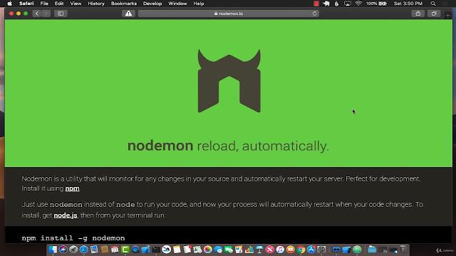 NodeJS - The Complete Web Developer Bootcamp 2019