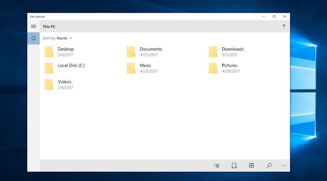 Cara Merubah Ukuran Folder di File Explorer Supaya Lebih Kecil atau Lebih Besar
