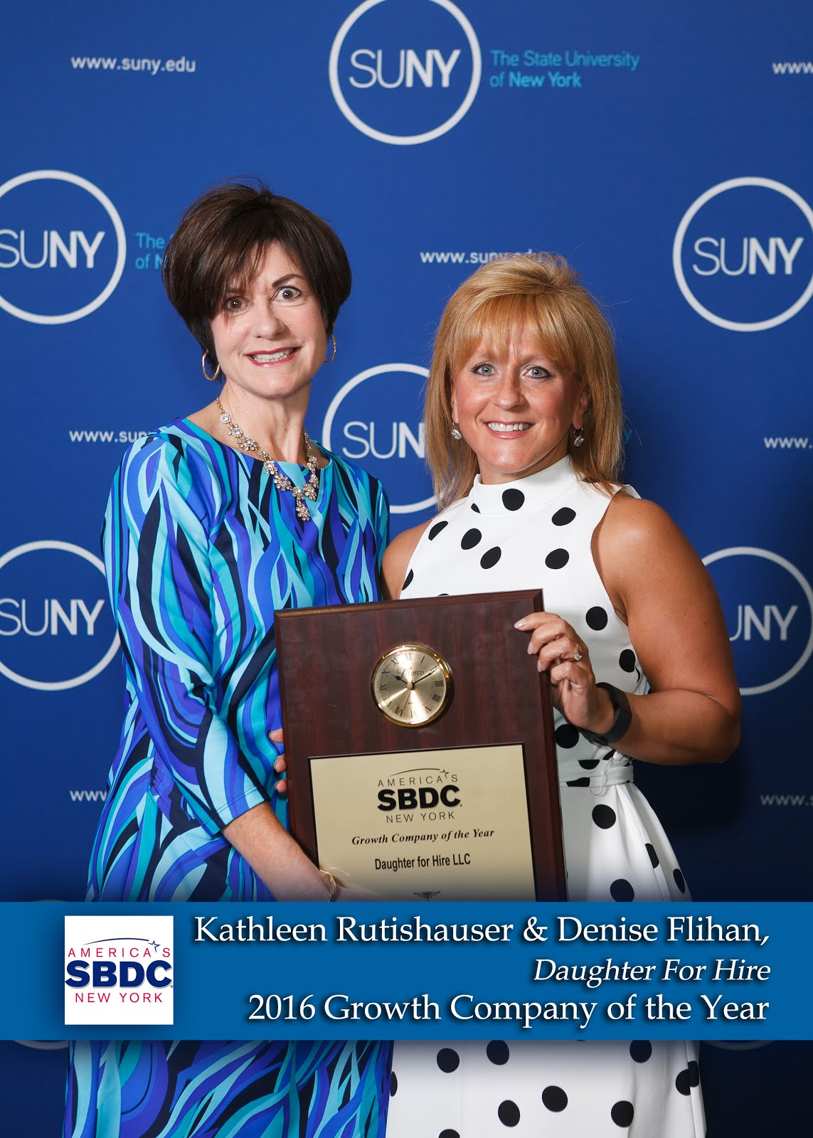 New York SBDC Research Network: NY SBDC Growth Company of the Year