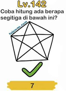 Jawaban coba hitunglah ada berapa segitiga dibawah ini brain out