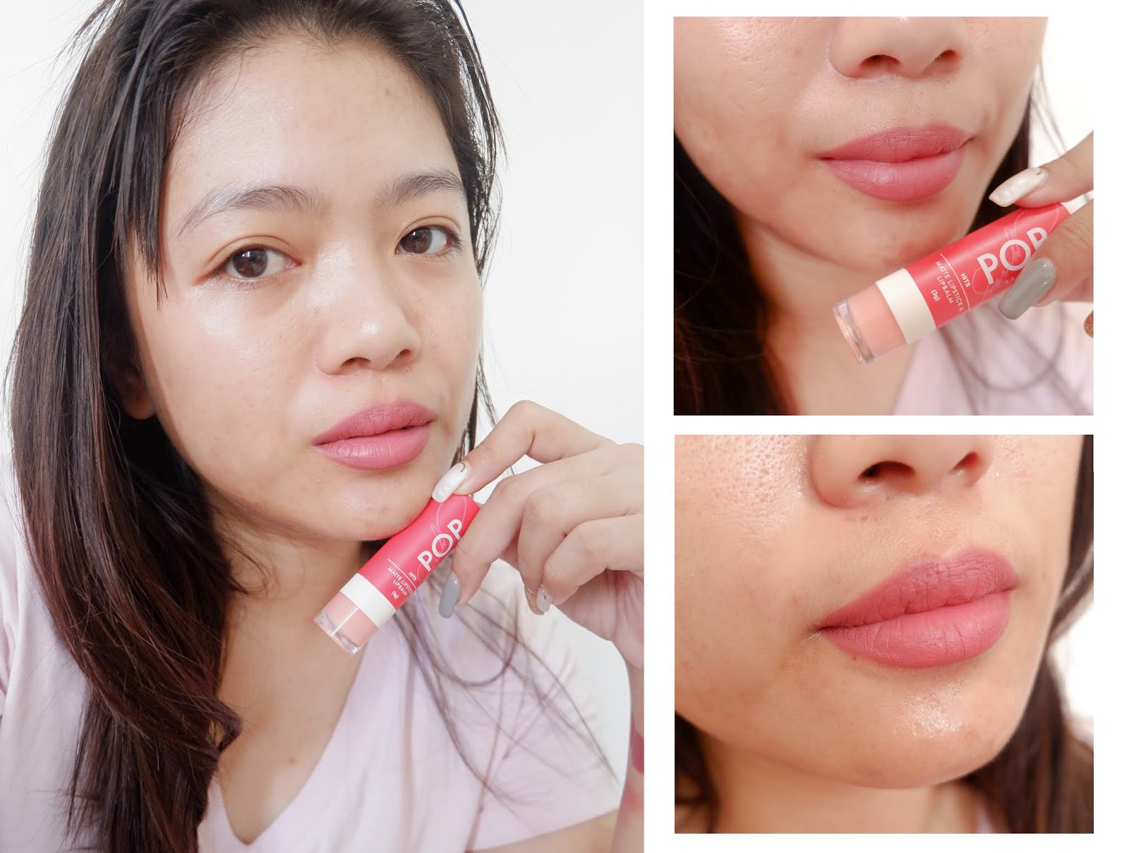 POP STUDIO HITS POWDER MATTE LIPSTICK & LIP-BALM REVIEW