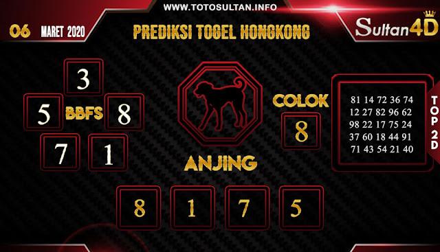 PREDIKSI TOGEL HONGKONG SULTAN4D 06 APRIL 2020