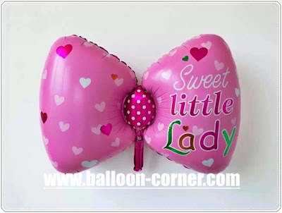 Balon Foil Pita SWEET LITTLE LADY