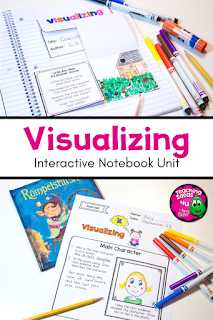 A complete unit to teach students how to visualize while reading.