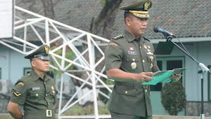 Kabaglat Wakili Danrindam III/Siliwangi Tutup Pendidikan Kejuruan Tamtama Infanteri Dikmata TNI AD Gelombang I TA. 2019