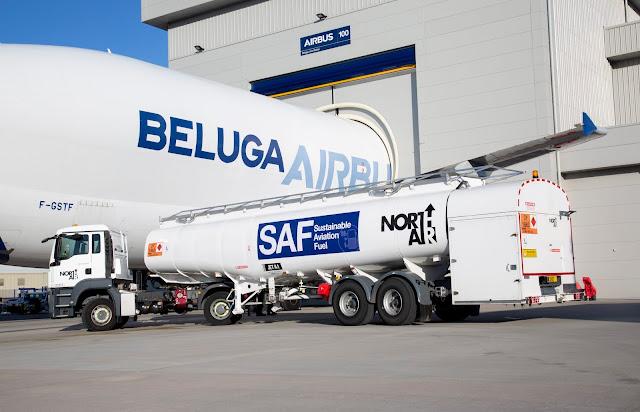 Airbus further reduces its Beluga fleet's environmental impact | MORE THAN FLY
