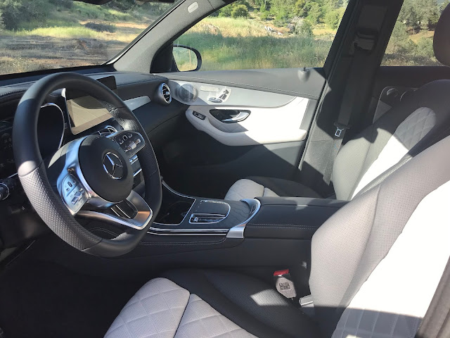 Front seats in 2020 Mercedes-Benz GLC 300 4MATIC