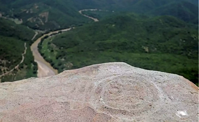Pre-Hispanic ruins found on mountaintop in central Mexico