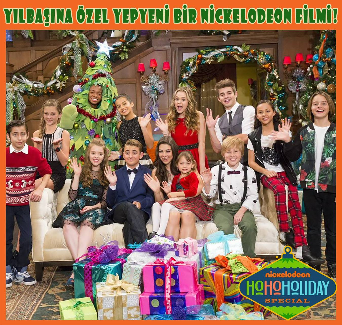 Nickelodeon Christmas Specials.Nickalive Nickelodeon Turkey To Premiere Nick S Ho Ho