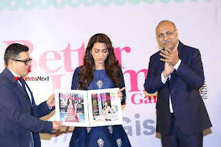 Bollywood Actress Juhi Chawla Launchs Better Homes 10th Anniversary Celetion Cover  0042.JPG