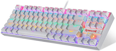 Best Keyboard RGB LED Rainbow Backlit Wired Keyboard with Red