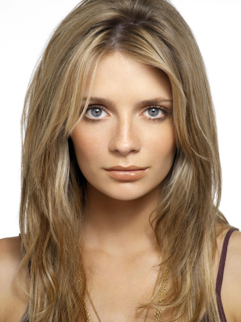 mischa barton purple tank top season 3 the o.c. promo photo shoot