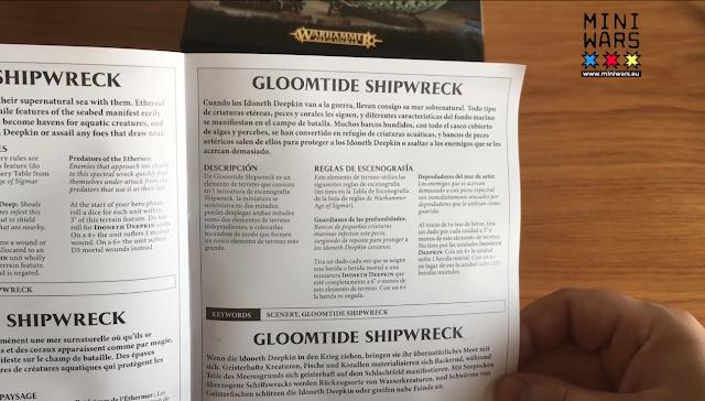 Reglas Gloomtide Shipwreck