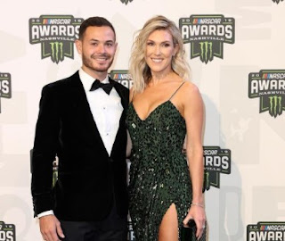 Picture of Katelyn Sweet with her husband Kyle Larson