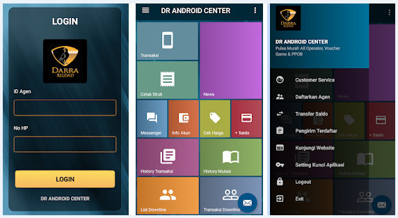 Cara Daftar DR Android Center (Darra Reload)