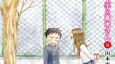 El manga Karakai Jozu no Takagi-san de Soichiro Yamamoto ha sumado un total de 4 millones de copias impresas.