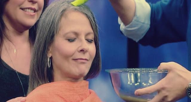طريقة مُذهلة للتتخلص من الشعر الأبيض دون صبغة : السر في البطاطس