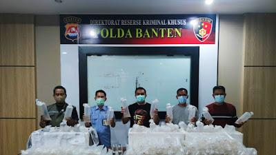Pelaku Penyelundupan 34.992 Bibit Lobster, berhasil Di Tangkap Polda Banten