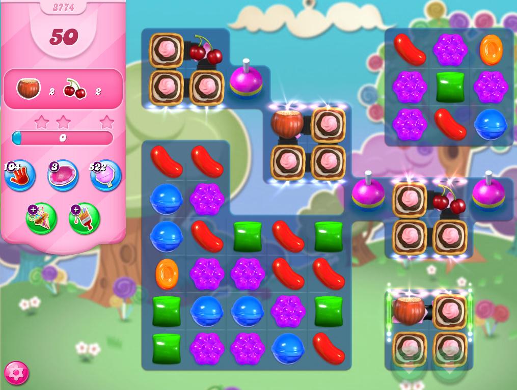 Candy Crush Saga level 3774