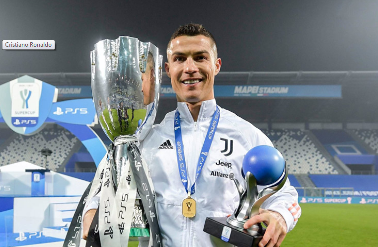 Cristiano Ronaldo becomes high goalscorer in the history of football