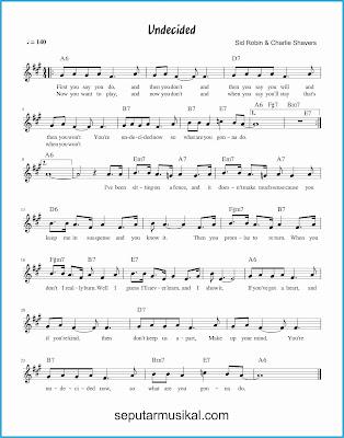 undecided lagu jazz standar