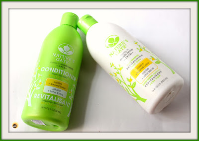 Review of Nature's Gate Jojoba & Sacred Lotus Revitalizing Shampoo and Conditioner for dry, fine hair on NBAM blog