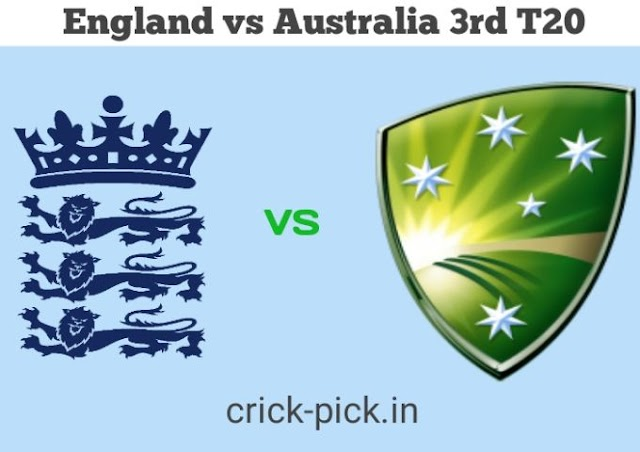 England vs Australia, 2020: 3rd T20I – Dream11 Fantasy Cricket Tips – Playing XI, Pitch Report & Injury Update