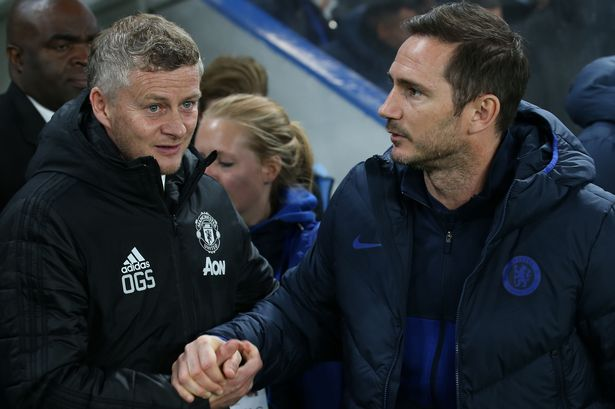 Ole Gunnar Solskjaer and Frank Lampard will lock horns at Old Trafford this Saturday