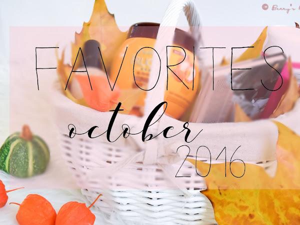 Любими продукти // Октомври 2016 feat. Clinique, Zoeva, Yves Rocher, Garnier...