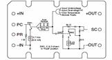 Module Alarm Logic Schematic in the 300V Micro Family DC DC Converter Module