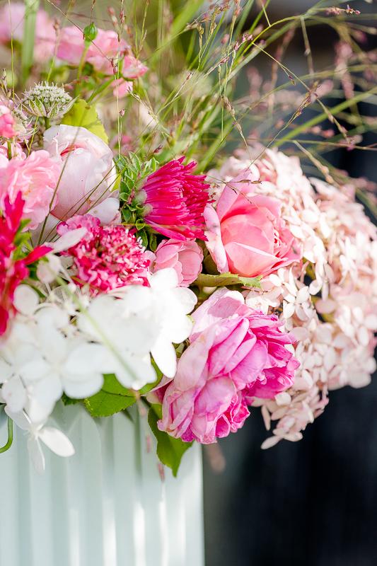 Freitagsblümchen oder was für eine Farbenpracht, Pomponetti, Sommerstrauß, Friday Flowerday