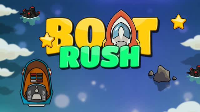 Boat Rush arcade games webtvplay