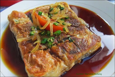 Rekomendasi kuliner padang terkenal yaitu martabak kubang hayuda