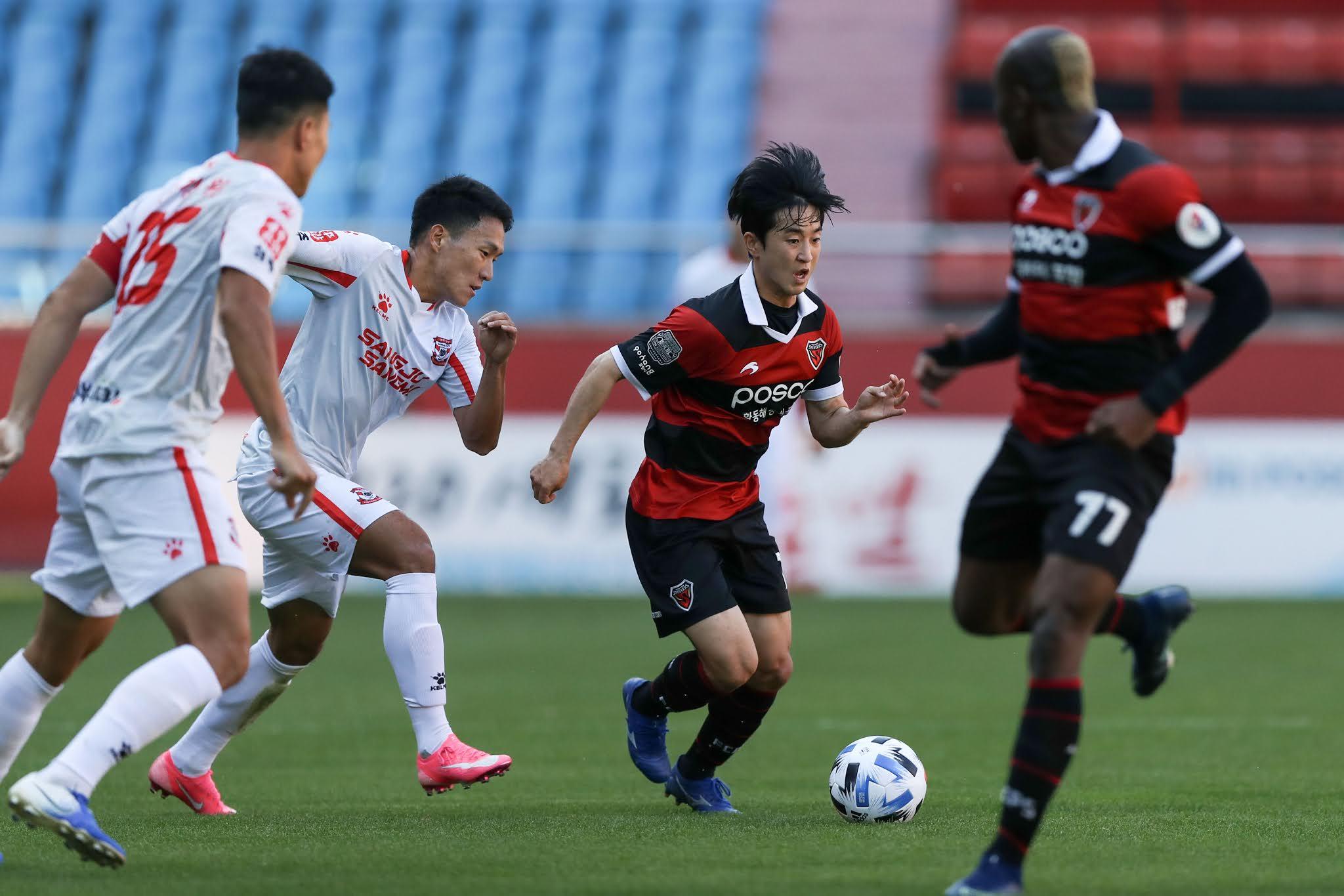 Pohang Steelers vs Sangju Sangmu