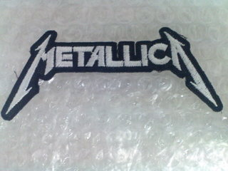 [CLOSED] Metallica Sew on Logo