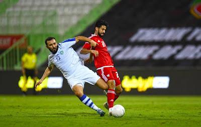 ملخص واهداف مباراة الامارات واوزبكستان (1-2) مباراة ودية