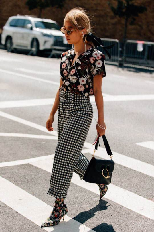 Print Mixing fashion trend