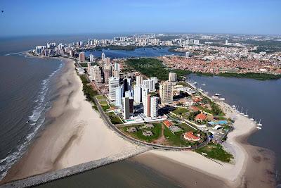 vista aérea de São Luis do Maranhão