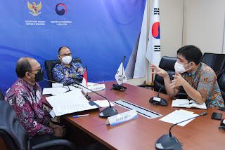 Setkab RI dan Kementerian Legislasi Korsel Gelar Seminar Sistem Interpretasi UU dan Pemberian Pendapat