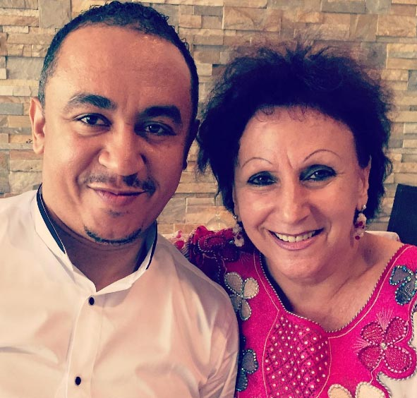 "Freeze shares photo of his European mum to prove he wasn't ""adopted"""
